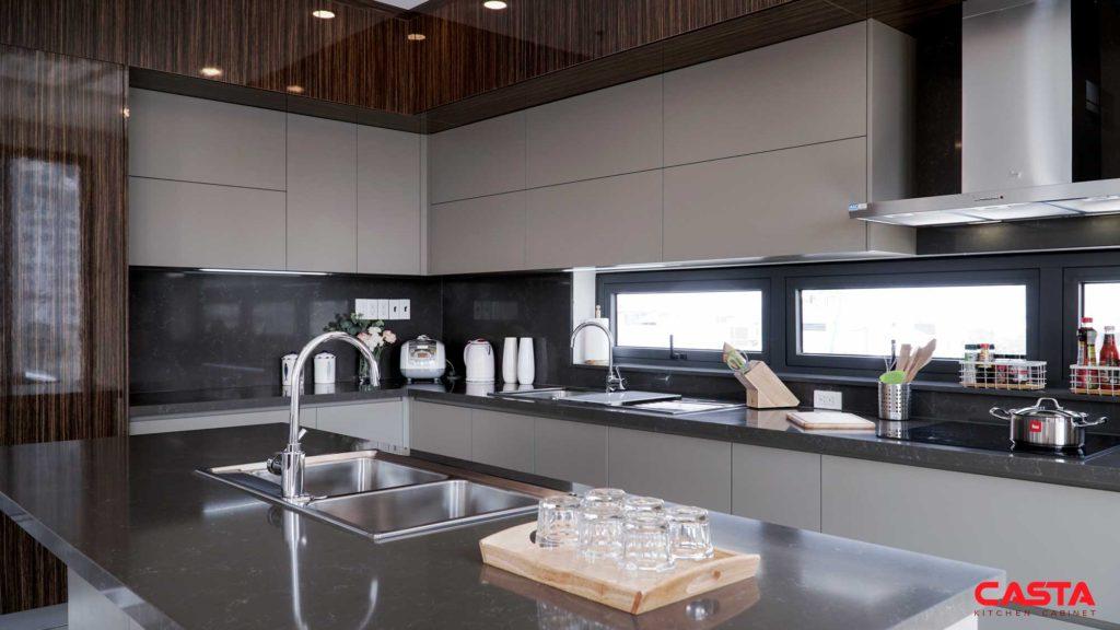 khu vực công năng tủ bếp