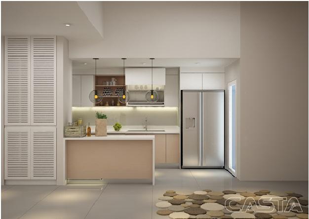 tủ bếp module