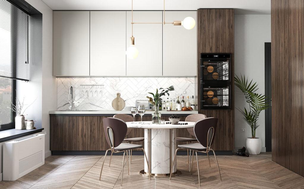 tủ bếp phong cách bespoke - casta-2